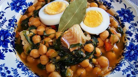 cocinasanapotagedegarbanzosconbacalao1